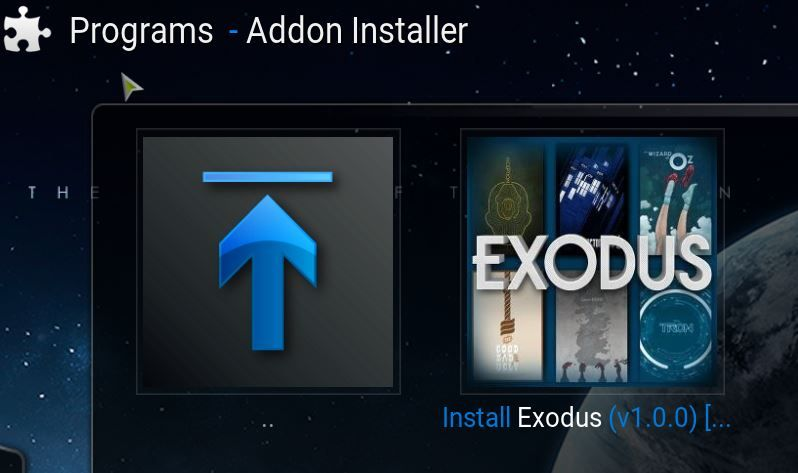 addon installer for exodus addon